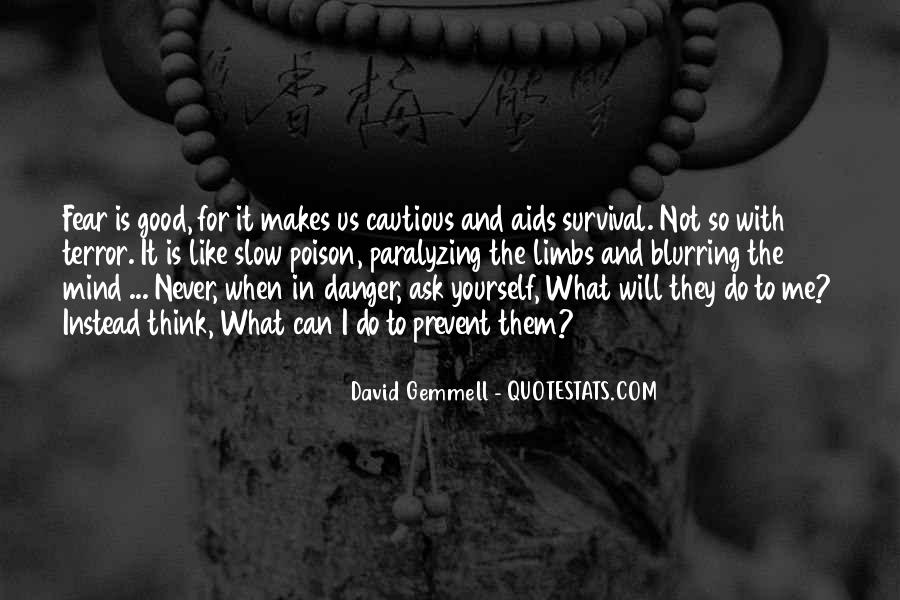Quotes About Terror And Fear #55067