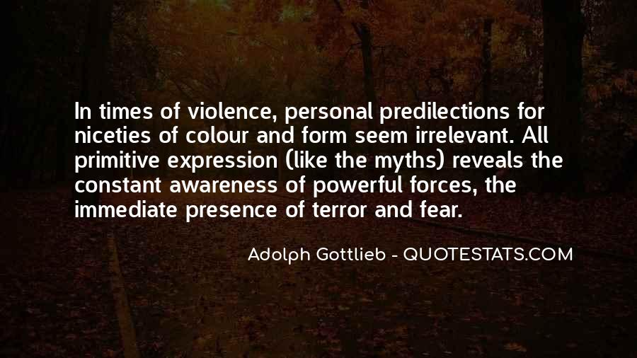 Quotes About Terror And Fear #699823