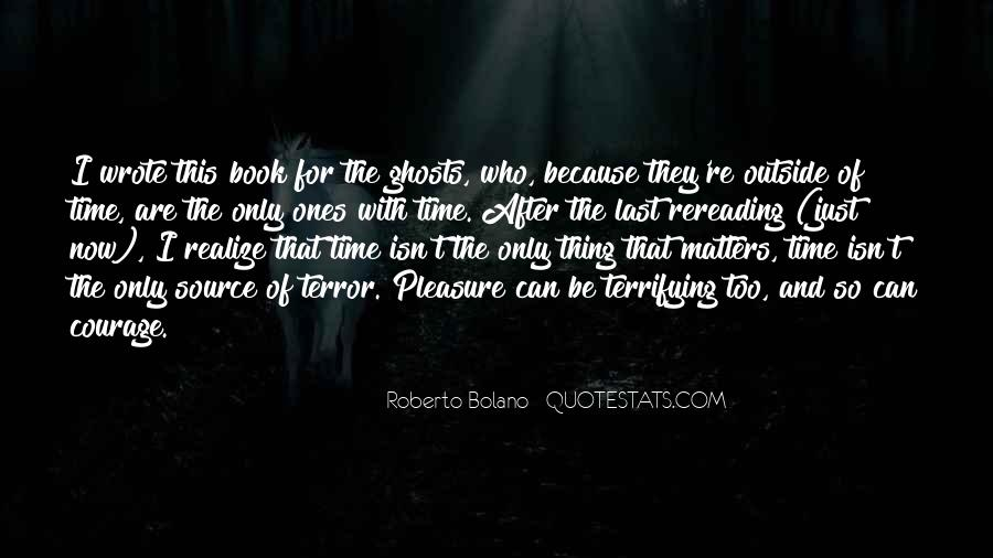 Quotes About Terror And Fear #731899