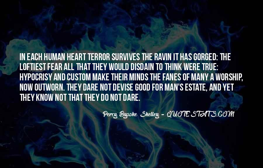 Quotes About Terror And Fear #869439