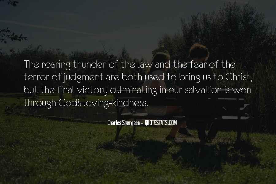 Quotes About Terror And Fear #921103