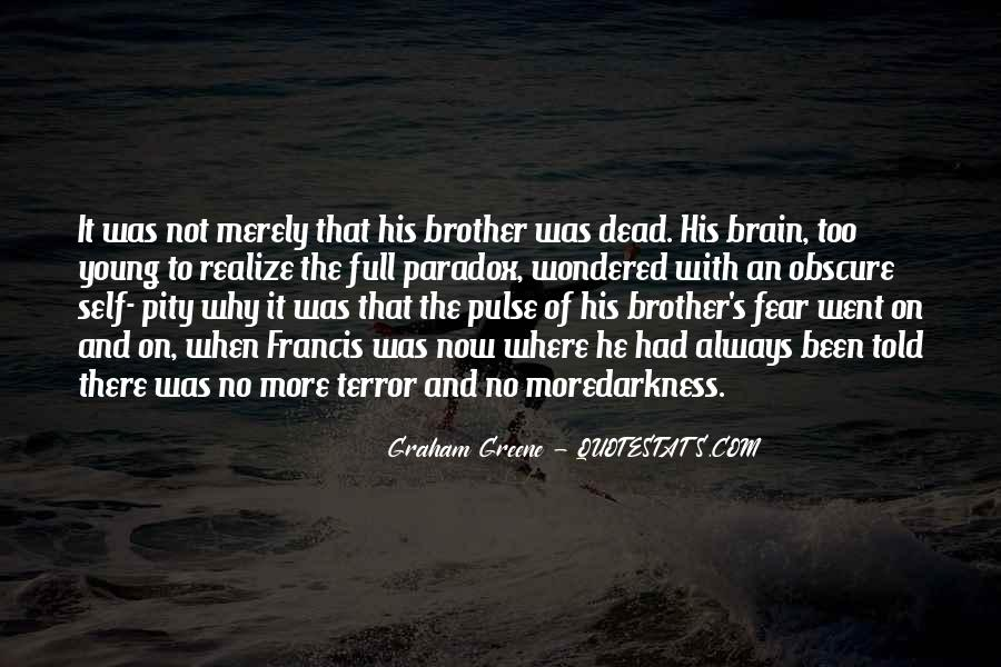 Quotes About Terror And Fear #945007