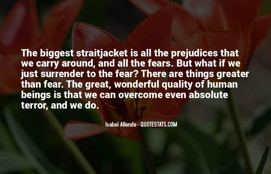 Quotes About Terror And Fear #971499