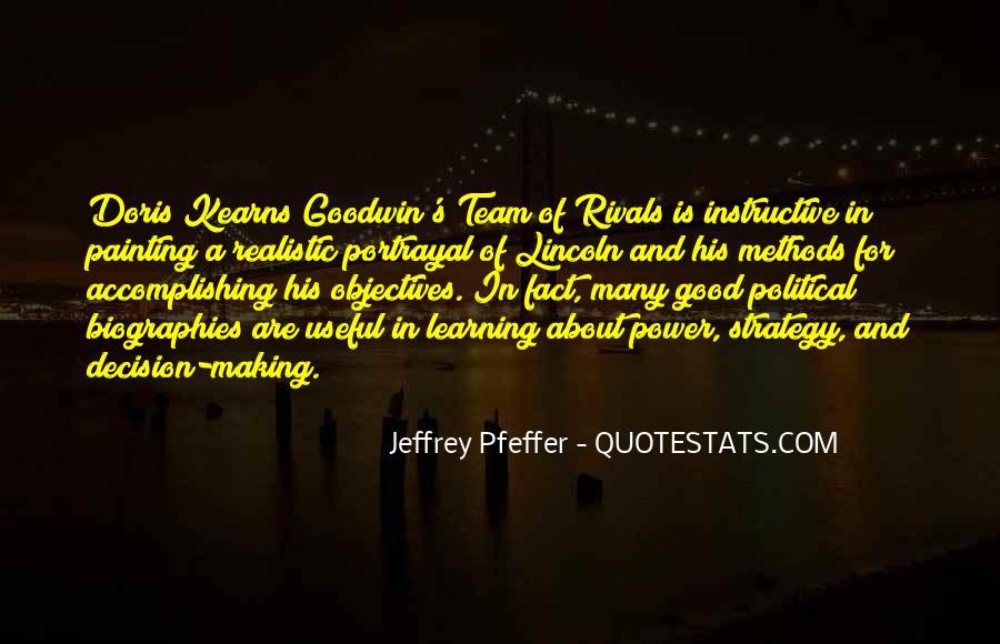 Jeffrey Pfeffer Quotes #1387843