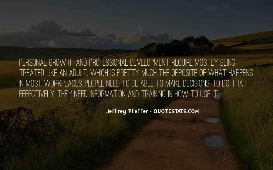 Jeffrey Pfeffer Quotes #1414346