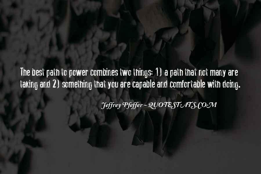 Jeffrey Pfeffer Quotes #147702