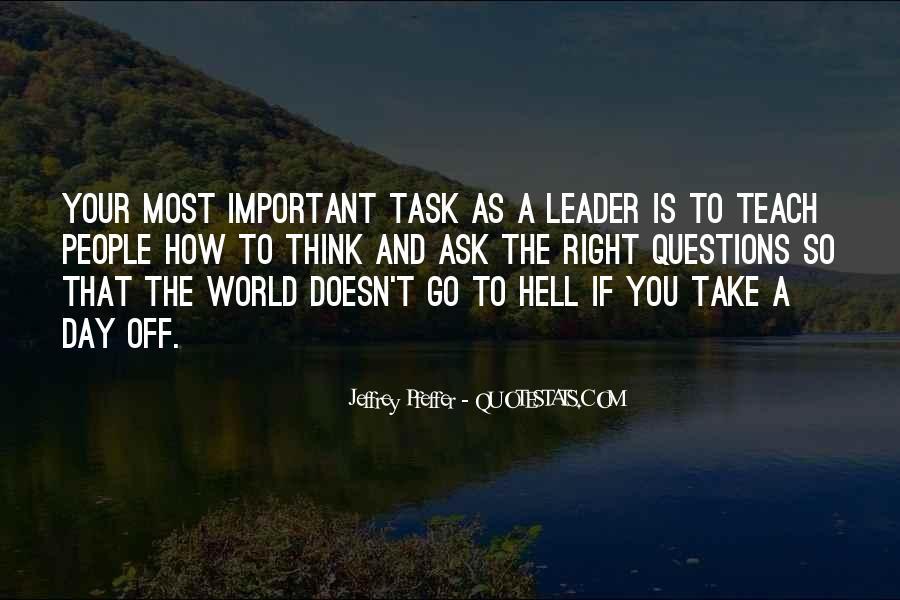 Jeffrey Pfeffer Quotes #365178