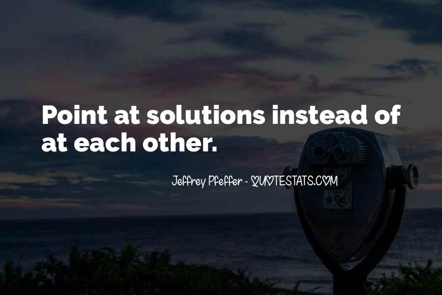 Jeffrey Pfeffer Quotes #380450