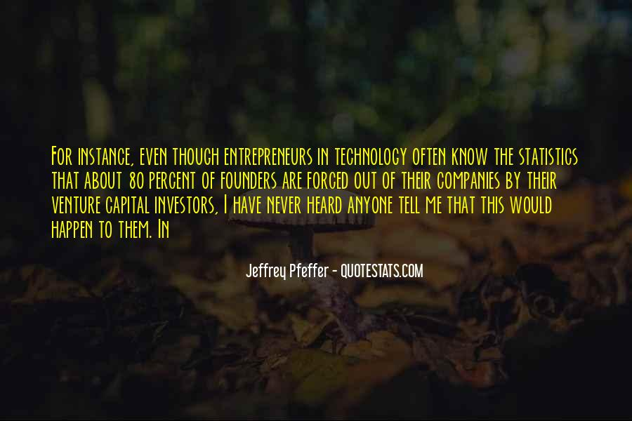 Jeffrey Pfeffer Quotes #750599