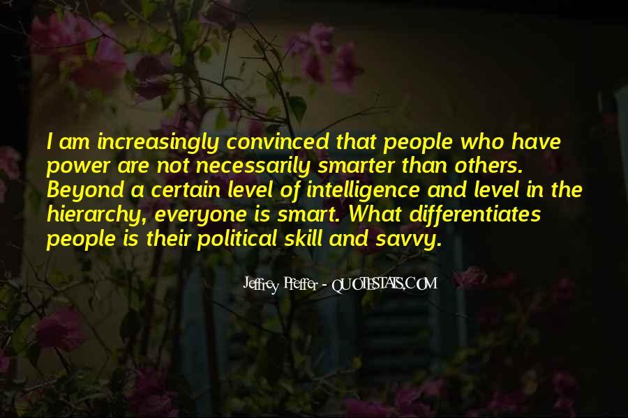 Jeffrey Pfeffer Quotes #947941
