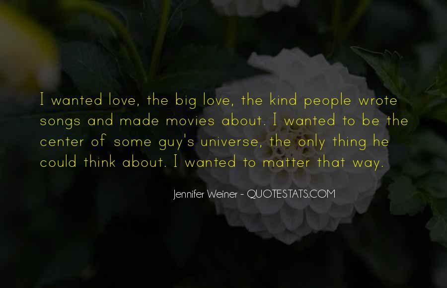 Jennifer Weiner Quotes #1021414