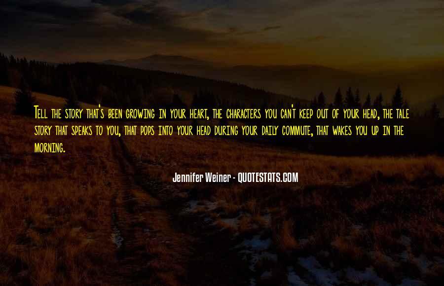 Jennifer Weiner Quotes #1130324