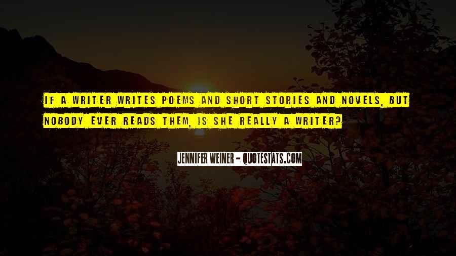 Jennifer Weiner Quotes #1253962
