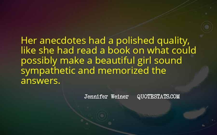 Jennifer Weiner Quotes #148372
