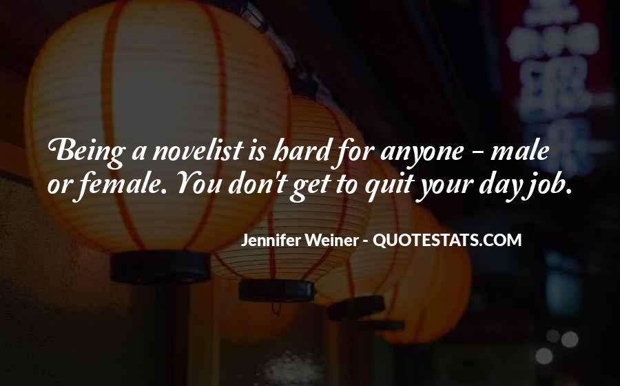 Jennifer Weiner Quotes #224827