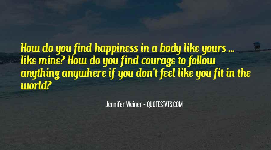 Jennifer Weiner Quotes #253586