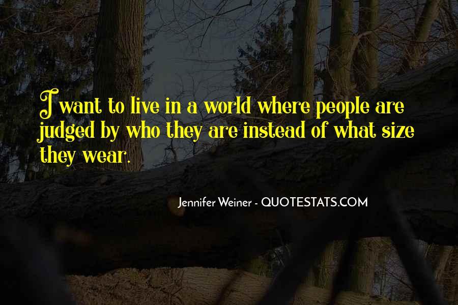 Jennifer Weiner Quotes #314470