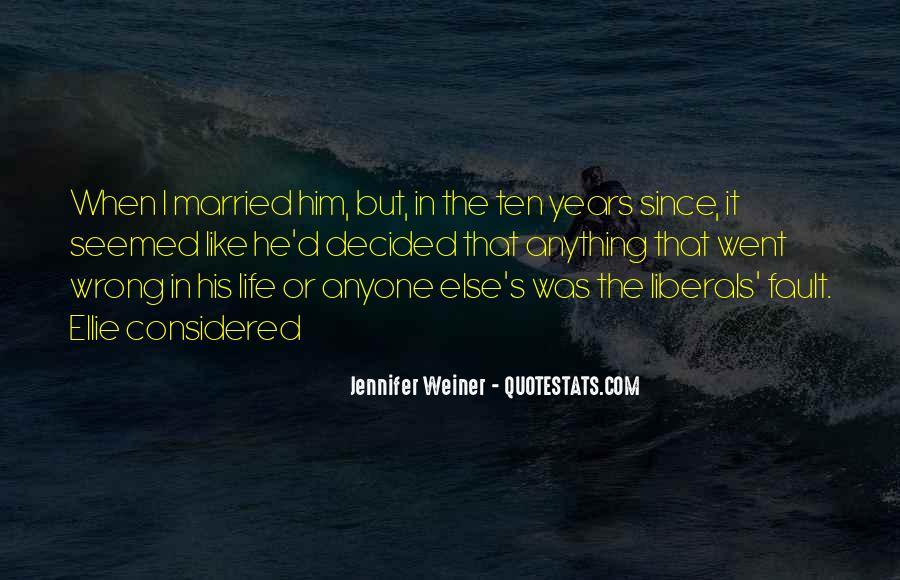 Jennifer Weiner Quotes #324762
