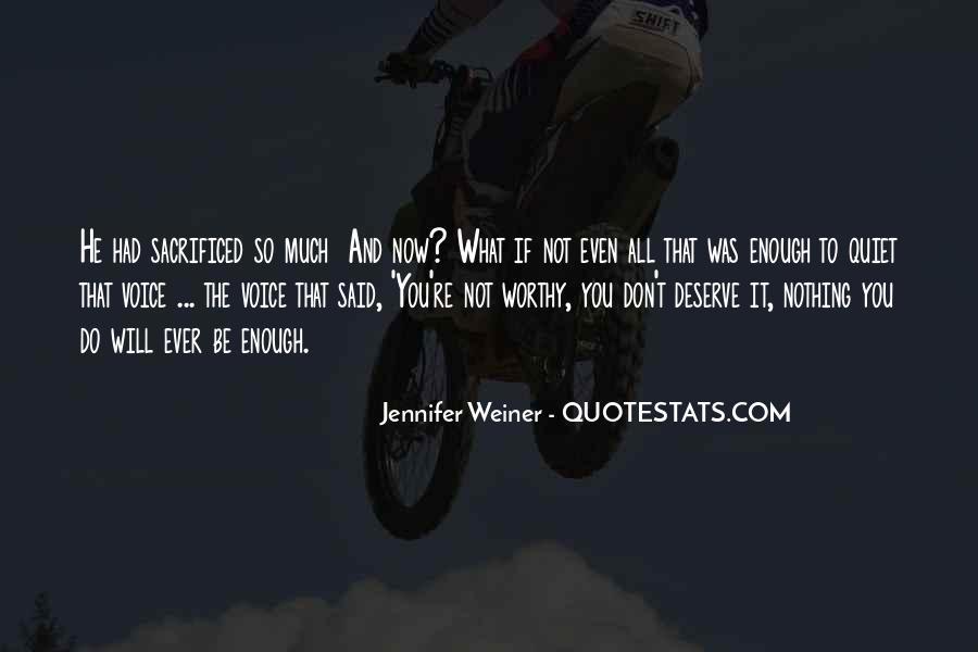 Jennifer Weiner Quotes #428949