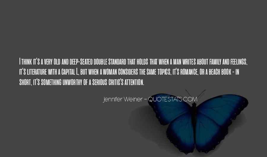 Jennifer Weiner Quotes #525019