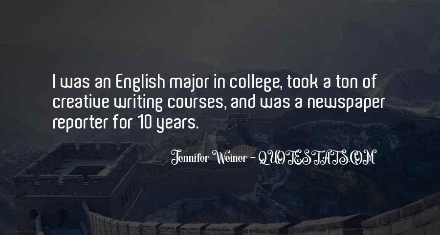 Jennifer Weiner Quotes #573307