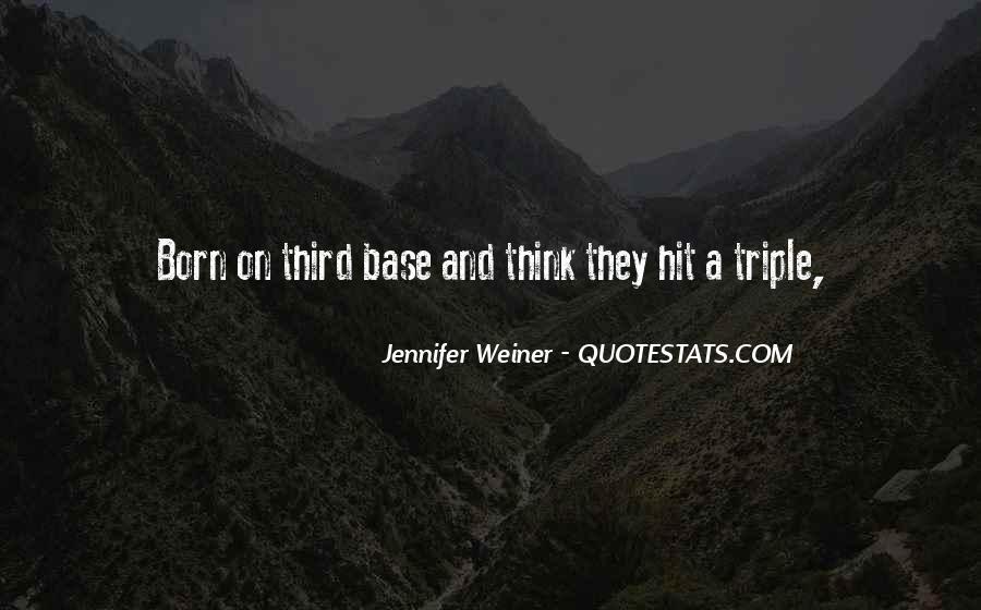 Jennifer Weiner Quotes #574699