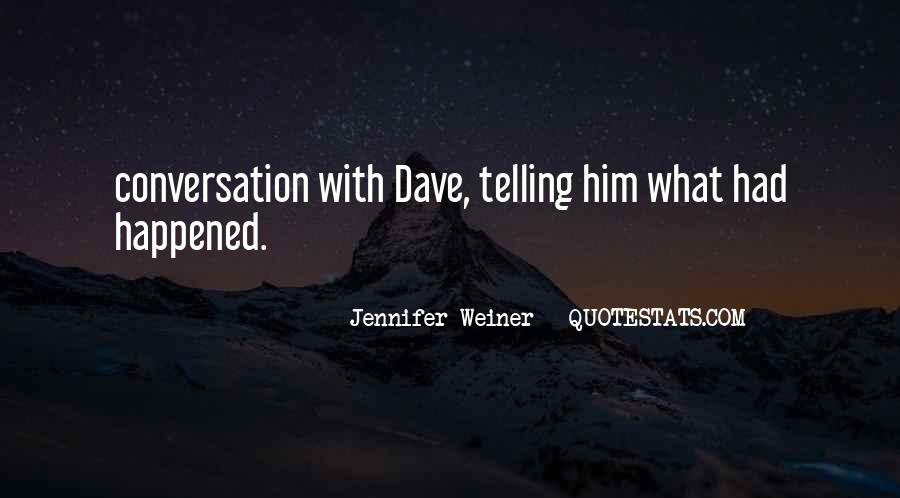 Jennifer Weiner Quotes #716369