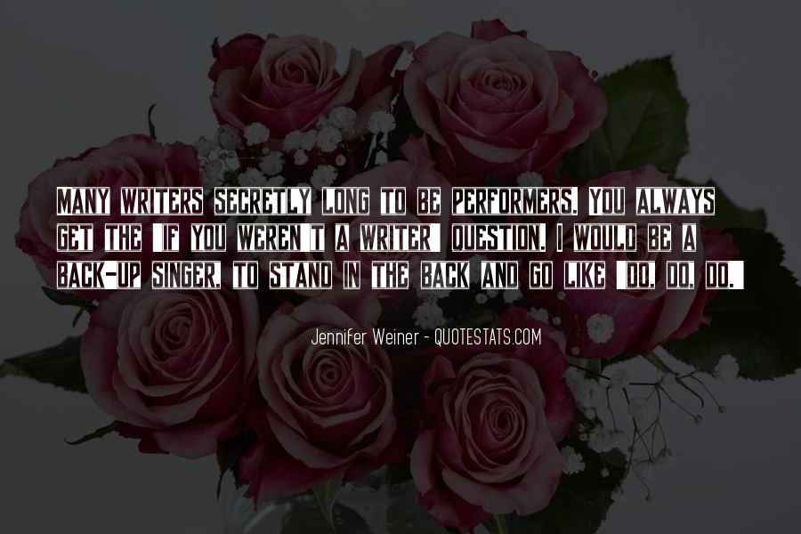 Jennifer Weiner Quotes #725647