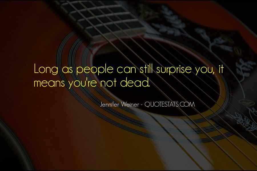 Jennifer Weiner Quotes #81146