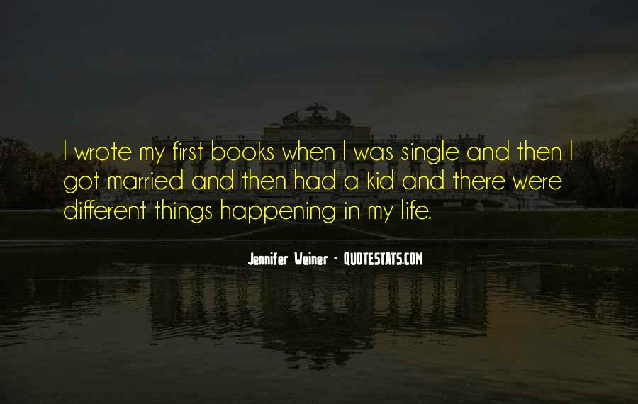 Jennifer Weiner Quotes #851670