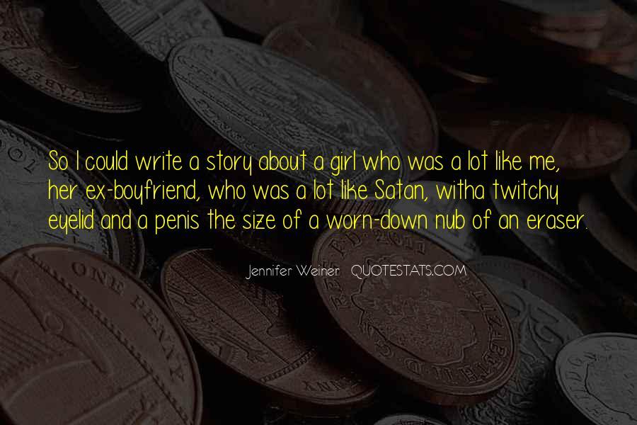 Jennifer Weiner Quotes #890590