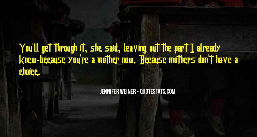 Jennifer Weiner Quotes #928190
