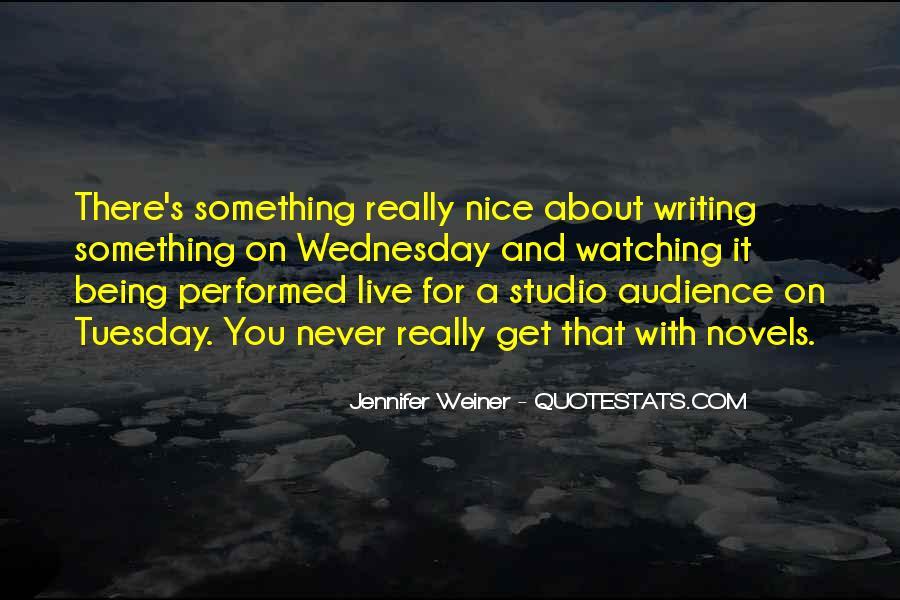 Jennifer Weiner Quotes #944920