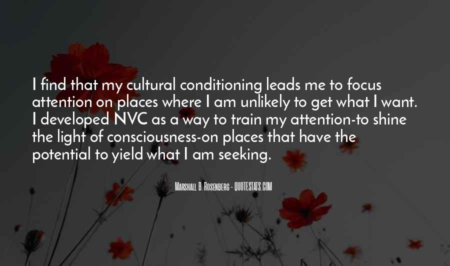 Quotes About Cultural Conditioning #119998