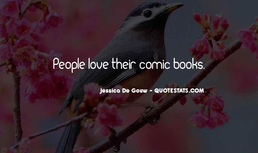 Jessica De Gouw Quotes #1611921