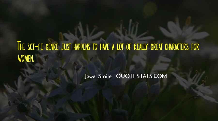 Jewel Staite Quotes #1291240