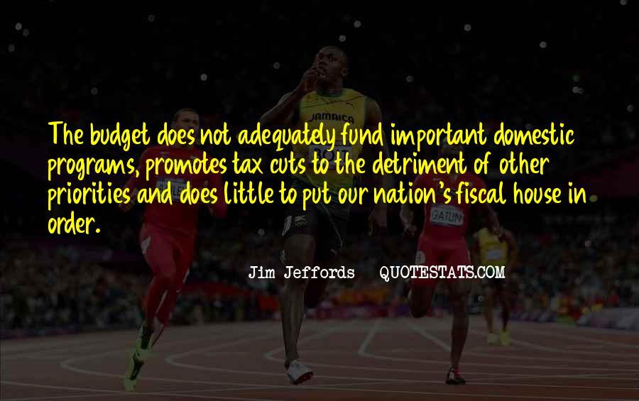 Jim Jeffords Quotes #865302