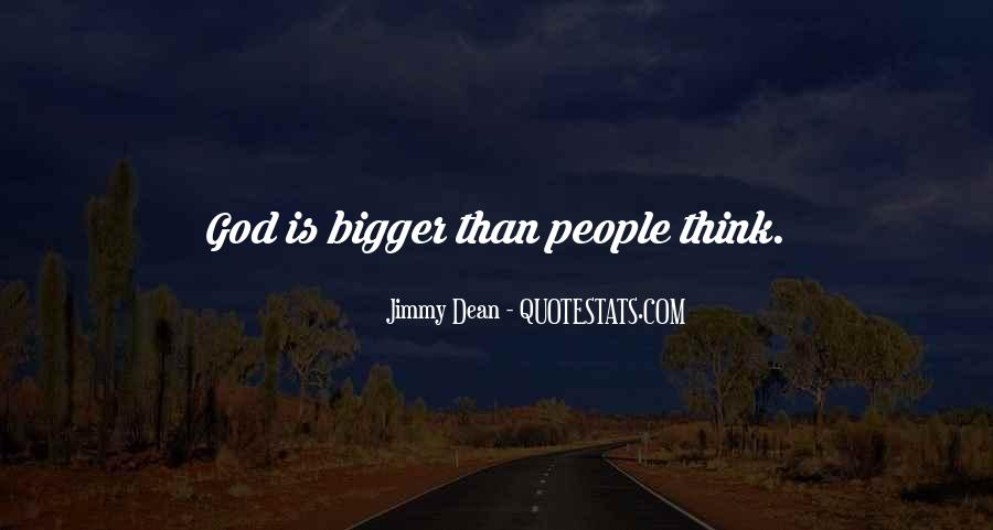 Jimmy Dean Quotes #33702