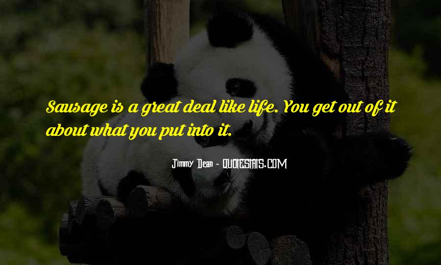 Jimmy Dean Quotes #46565