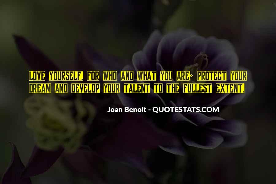 Joan Benoit Quotes #33684