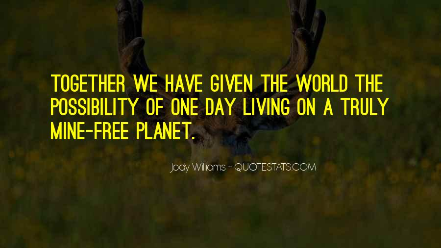 Jody Williams Quotes #426995