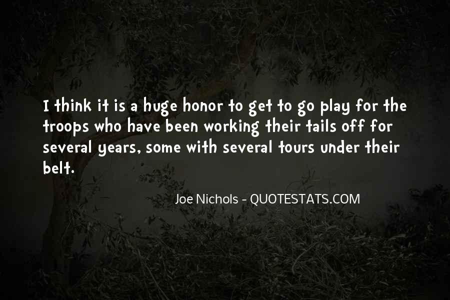 Joe Nichols Quotes #1779809