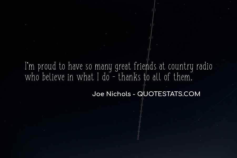 Joe Nichols Quotes #1863493