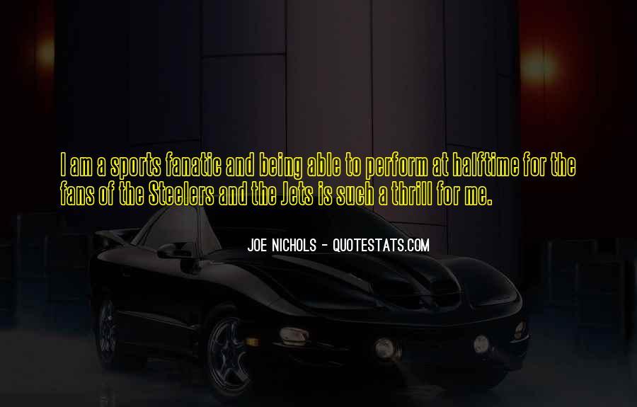 Joe Nichols Quotes #189704