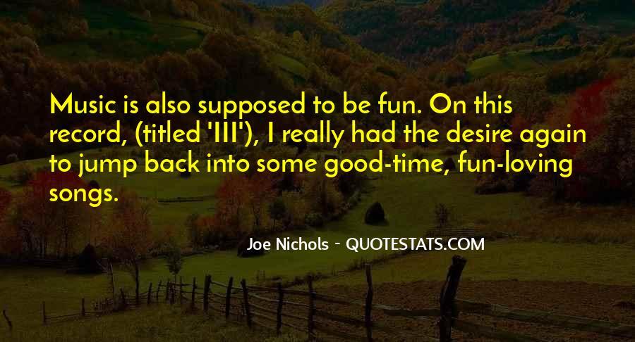 Joe Nichols Quotes #862686