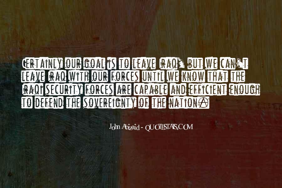 John Abizaid Quotes #177299