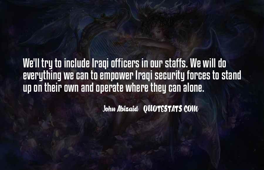 John Abizaid Quotes #426251