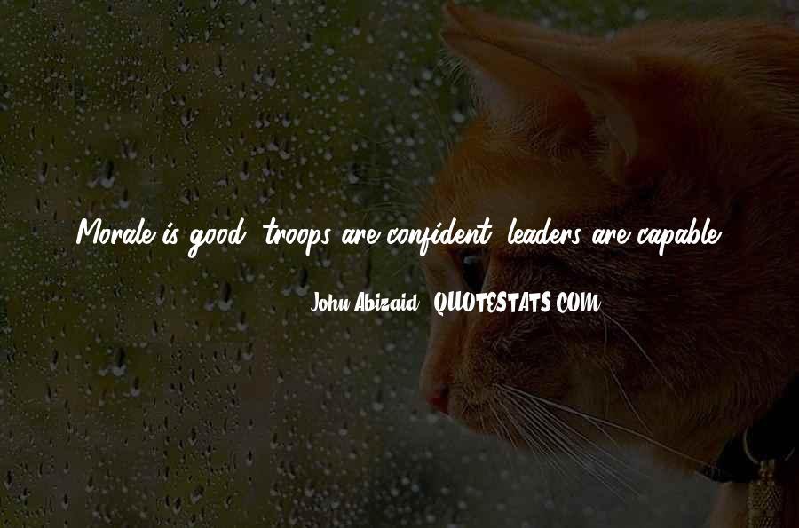 John Abizaid Quotes #636913