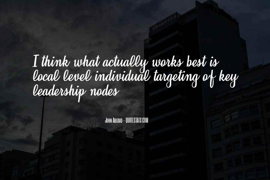 John Abizaid Quotes #77703