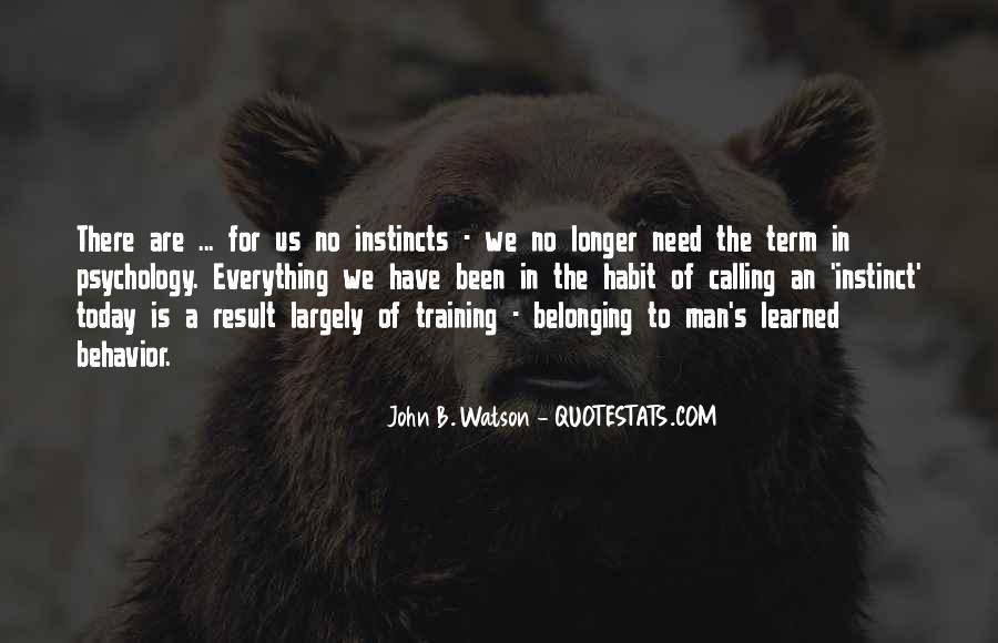 John B Watson Quotes #1208393